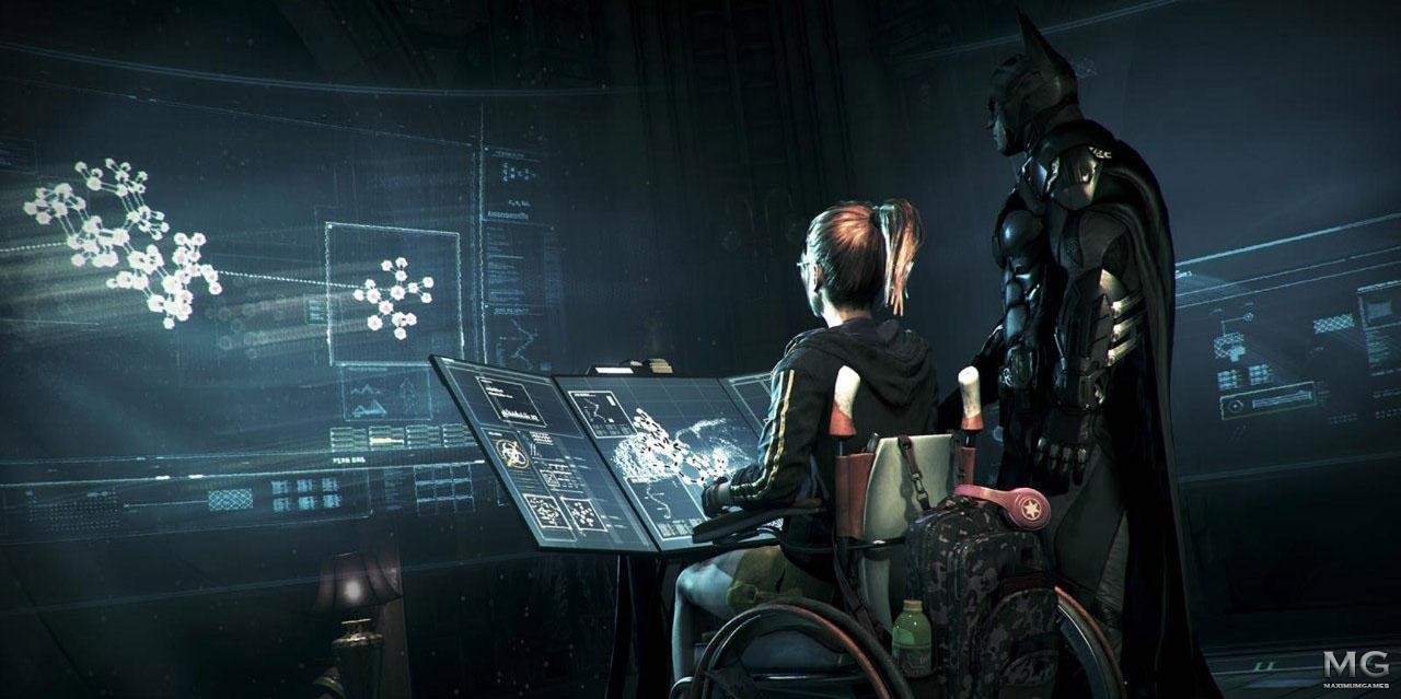 Первые скриншоты batman arkham knight